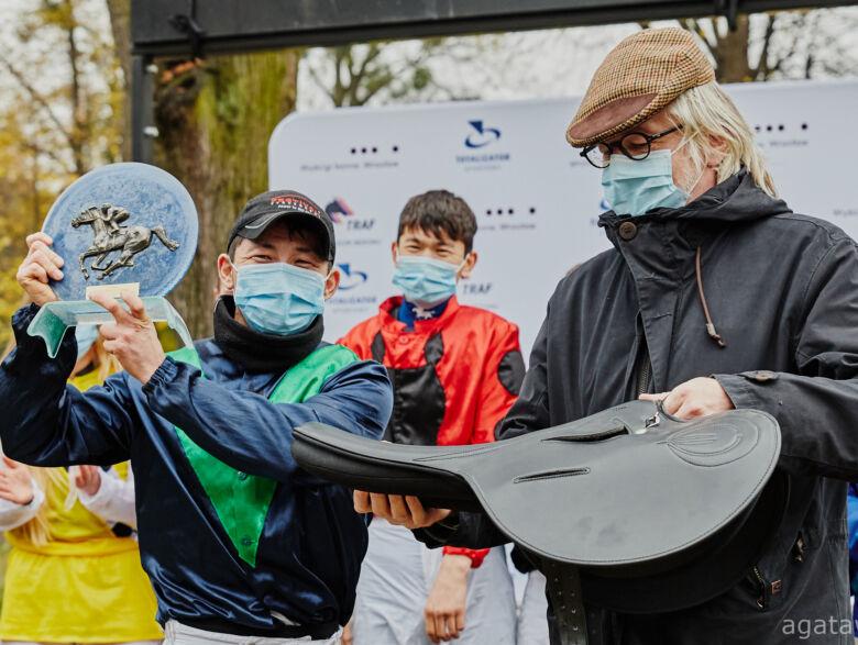 img: Puchar Młodych Jeźdźców dla Sanzhara Altynbekova